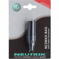 Разъем XLR Neutrik NC3MXX-BAG-POS