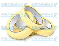 Малярный скотч 25мм*50м (желтый)