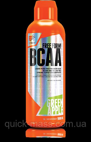 БЦАА Жидкие Extrifit BCAA Free Form Liquid 80 000mg 1L