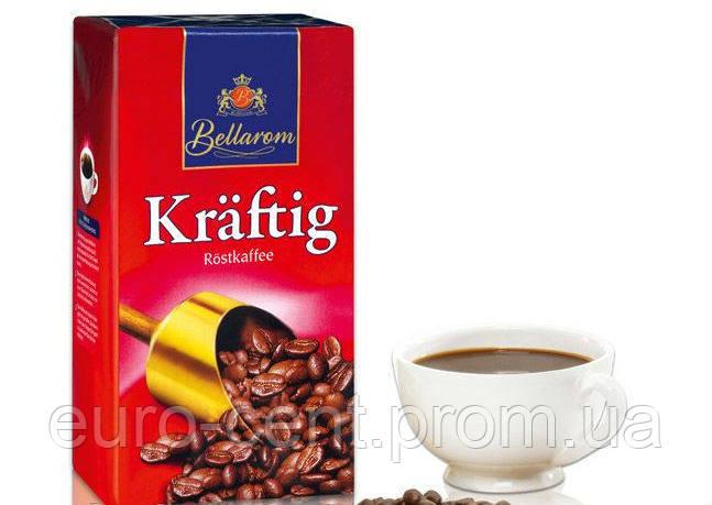 Кофе молотый крепкий Bellarom Kraftig Rost Kaffee 500g
