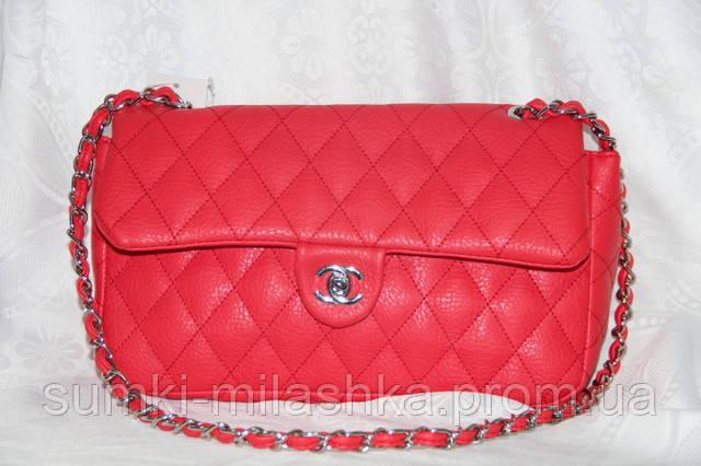 купить красную сумку шанель