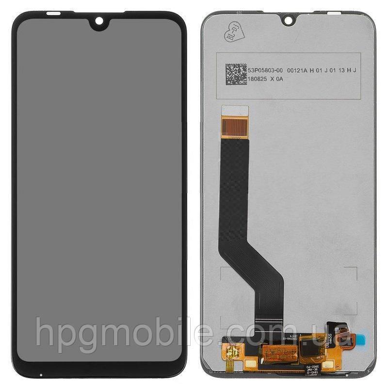 Дисплей для Xiaomi Mi Play, модуль в сборе (экран и сенсор), черный, Self-welded, оригинал