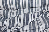 Ткань Лен натуральный, полоса №906 эко, фото 1