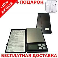 Весы карманные ювелирные MH267 (500/0,01) digital pocket jewelry scales 500g 0.1g + наушники iPhone 3.5, фото 1