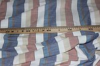 Ткань Лен натуральный, полоса №911 эко, фото 1