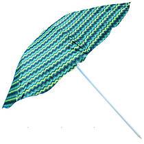Пляжний зонтик - хвилі, 2,4 м в діаметрі, MH-0042