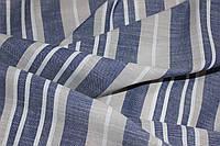 Ткань Лен натуральный, полоса №709 эко, фото 1
