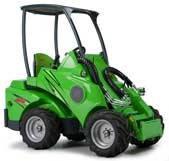 Мини погрузчики  (мини тракторы) Avant 400 серии:  модели 419 и 420
