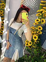 Костюм джинсовый стильный, женский, 211-0694-1, фото 1