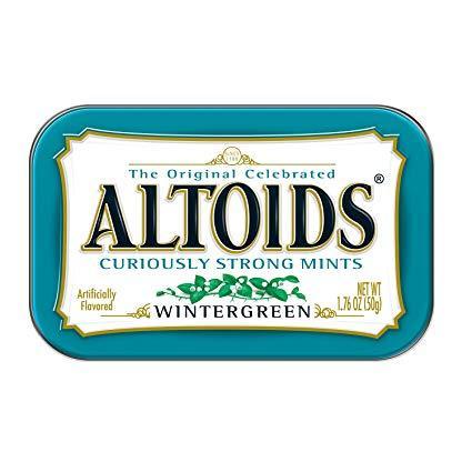 Драже Altoids Wintergreen