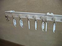 Карнизы для штор из алюминиевого «Т» профиля.