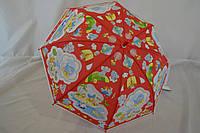 """Яркий детский зонт трость на 4-6 лет от фирмы """"РОЕ""""."""
