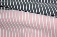 пудра.Ткань бенгалин , летний -растяжение по долевой! джинсовое плетение нити № 933, фото 1