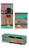 AKFIX эпоксидный клей в шприце универсальный E340 (в ящике 192 шт, )