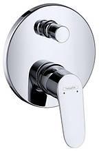 Смеситель для ванны встроенный Hansgrohe Focus 31945