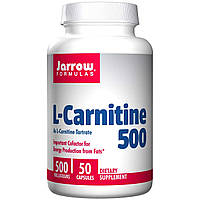 L-карнитин фумарат Jarrow Formulas 50 капсул