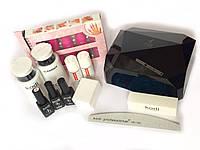Стартовый набор для маникюра гель лаком Kodi Professional + Лампа СCFL+LED 36 Вт