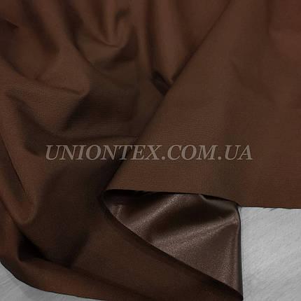 Ткань оксфорд 600D PU коричневый, фото 2