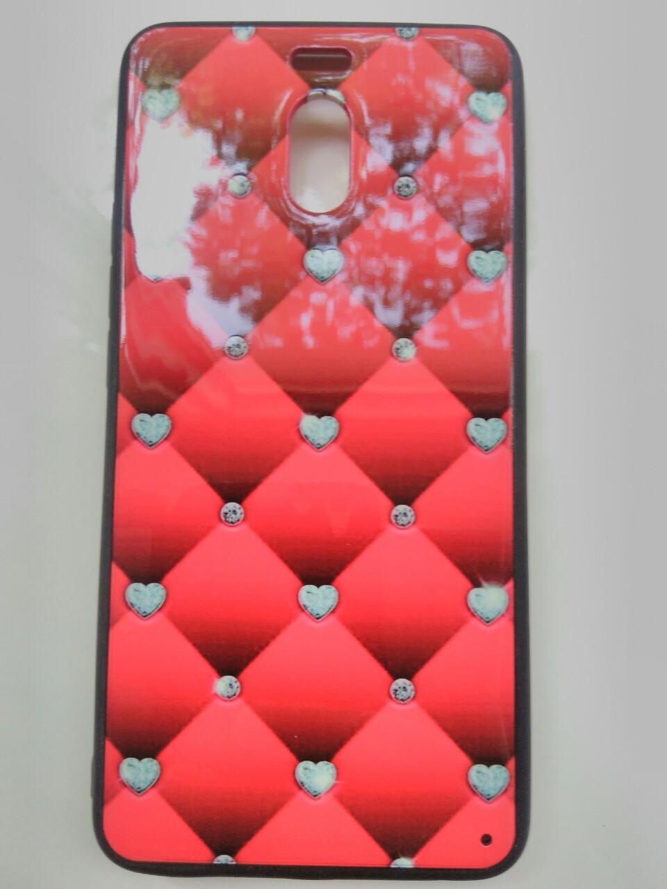 Накладка с рисунком  Guipure Desing  Meizu M6 Note