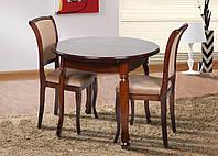 Обеденный комплект стол Гаити орех+2 стула Марио, цвет орех темный