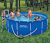 Каркасный бассейн Bestway 56420  (366х122 см), фильтр-насос, тент, подстилка, лестница
