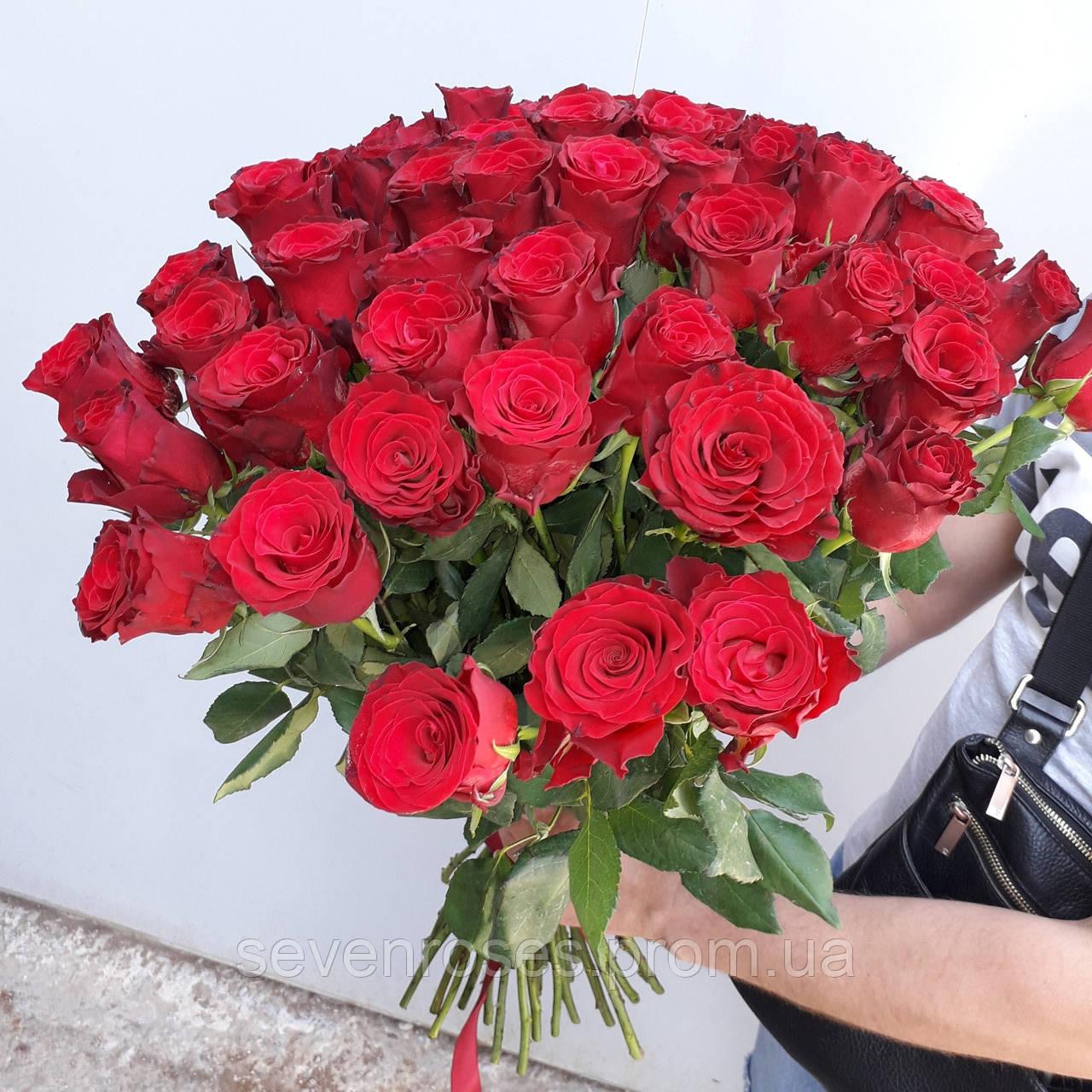 """Букет из 41 розы """"Эльторо"""" (60см)"""