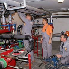 Монтаж наладка и ремонт теплоснабжения