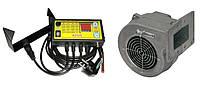 Вентилятор и автоматика для твердотопливных котлов Atos + DP-02