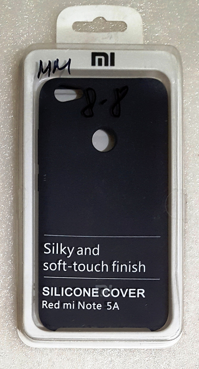 Силіконовий чохол ORIGINAL Xiaomi Redmi Note 5A / Note 5A Prime (black)