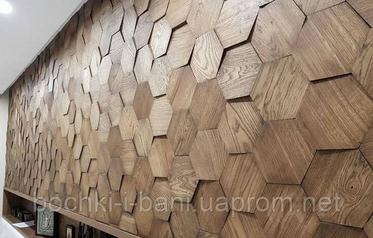 Декоративные панели из массива