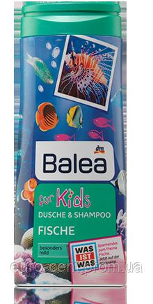 Детский душ-гель & шампунь Balea dusche & shampoo