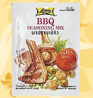Мікс спецій для ребер барбекю, Seasoning BBQ mix, 35г, Lobo, Дж