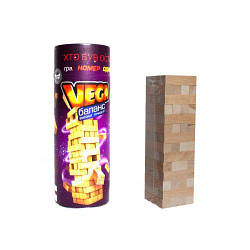 """Развивающая настольная игра Дженга """"Vega: Пизанская Башня"""""""