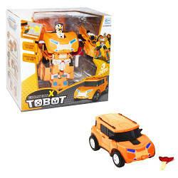 """Трансформер Тобот """"Tobot Evolution X"""" (оранжевый)"""