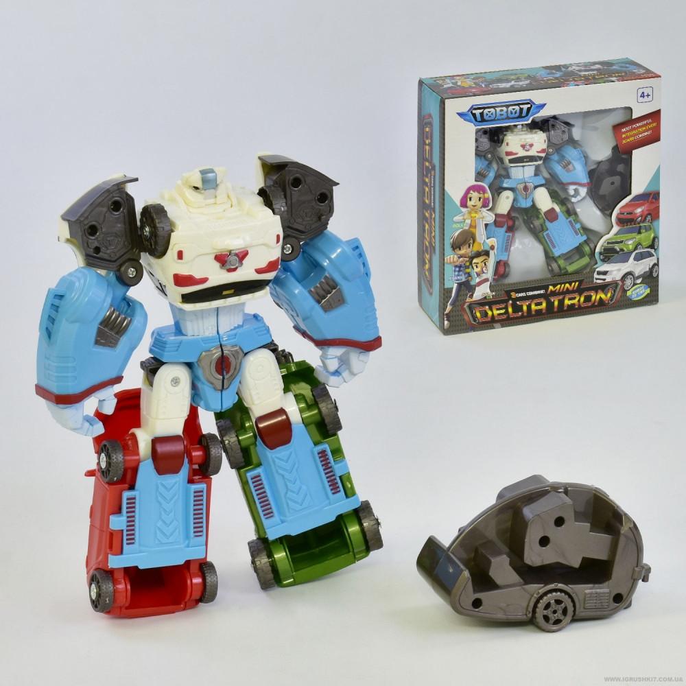 Робот-трансформер Тобот Дельтатрон (робот X, D, Z) Tobot 520