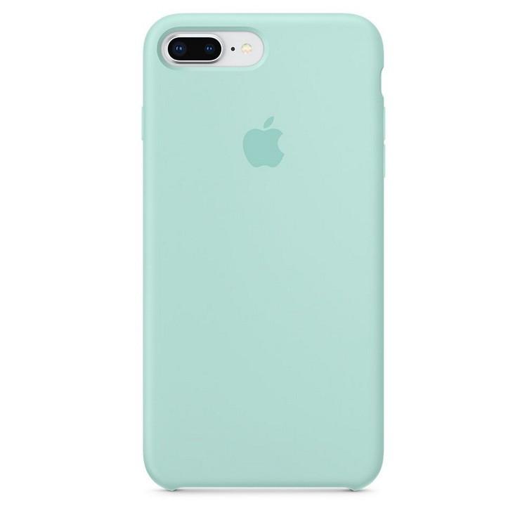 online store 04a91 9c58c Чехол Apple Silicone Case iPhone 7 Plus Marine Green (OR) - Bigl.ua