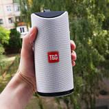 Портативная bluetooth колонка TG-113 grey, фото 3