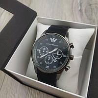 Мужские наручные часы Emporio Armani black black 05324 реплика