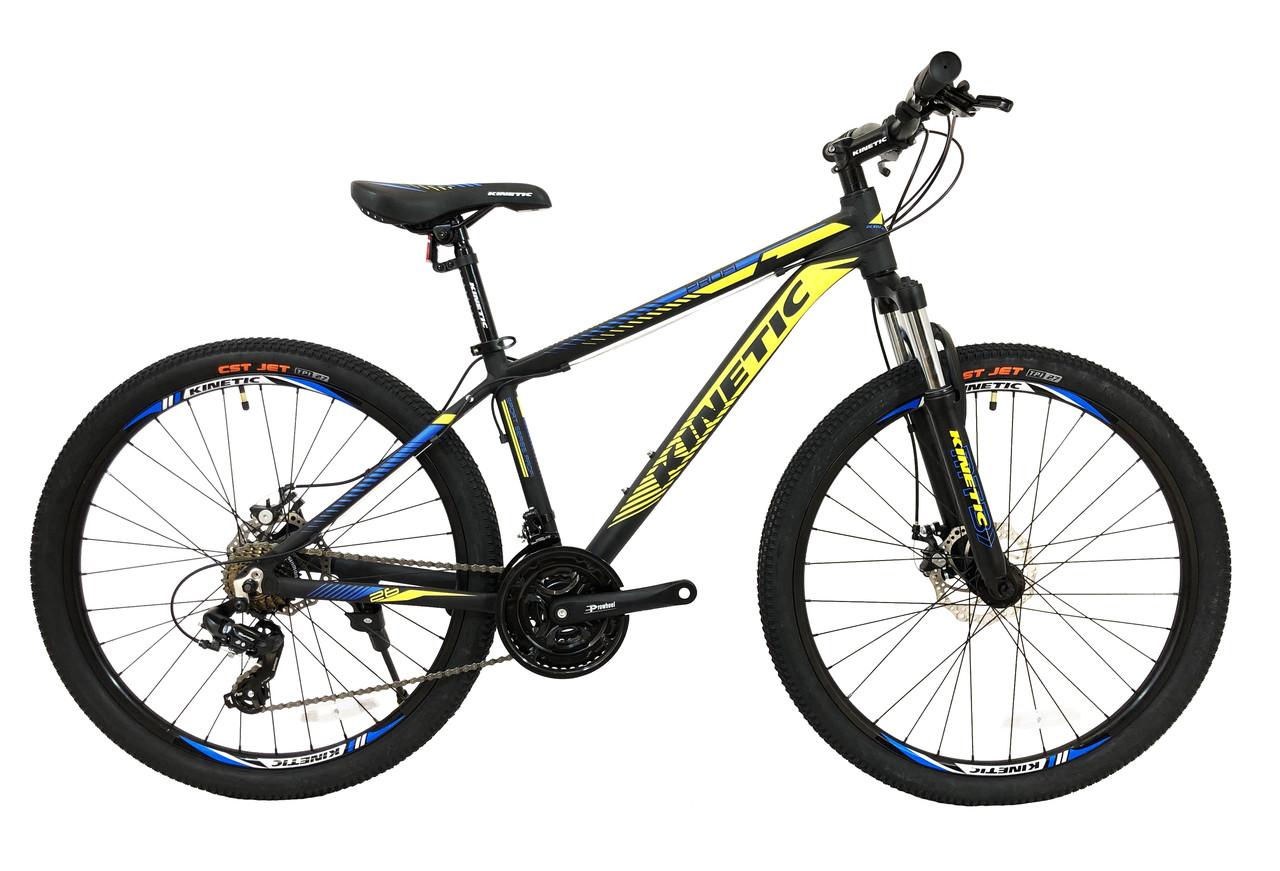 """Горный велосипед KINETIC PROFI 26"""" 13,5"""" Черный"""