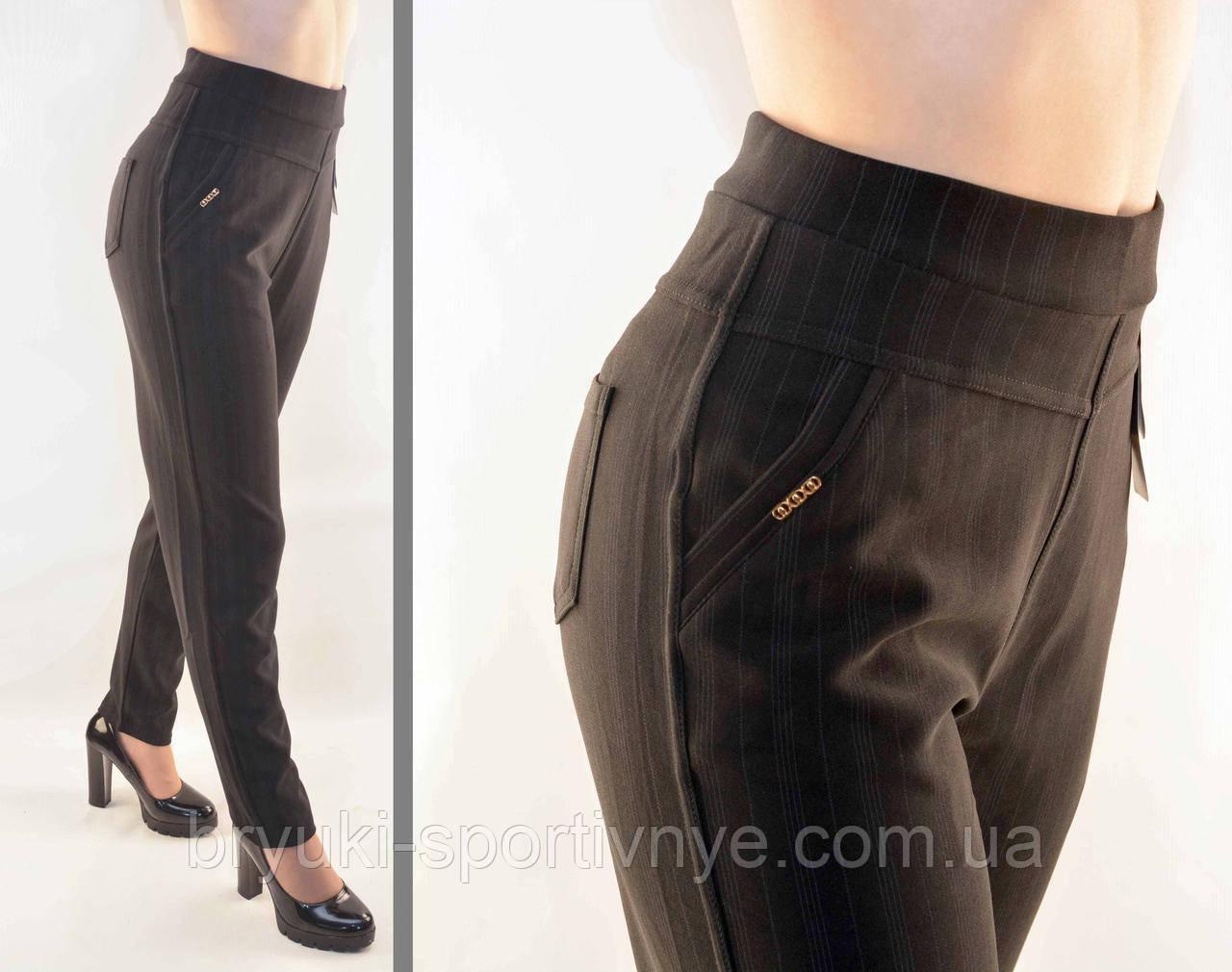 Штани штани в смужку - великі розміри ( Польща)
