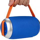 Портативная bluetooth колонка TG-112 blue, фото 5