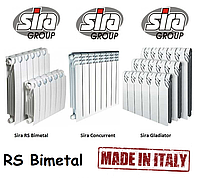 Биметаллические радиаторы Sira RS Bimetall 300*85-97. 100% Италия