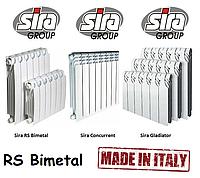 Биметаллические батареи Sira RS Bimetall 500*85-97. 100% Италия