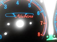 Шкалы приборов Daewoo Nubira, фото 1