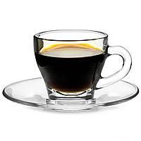 Чашка с блюдцем Ischia Espresso - 80 мл (Borgonovo)