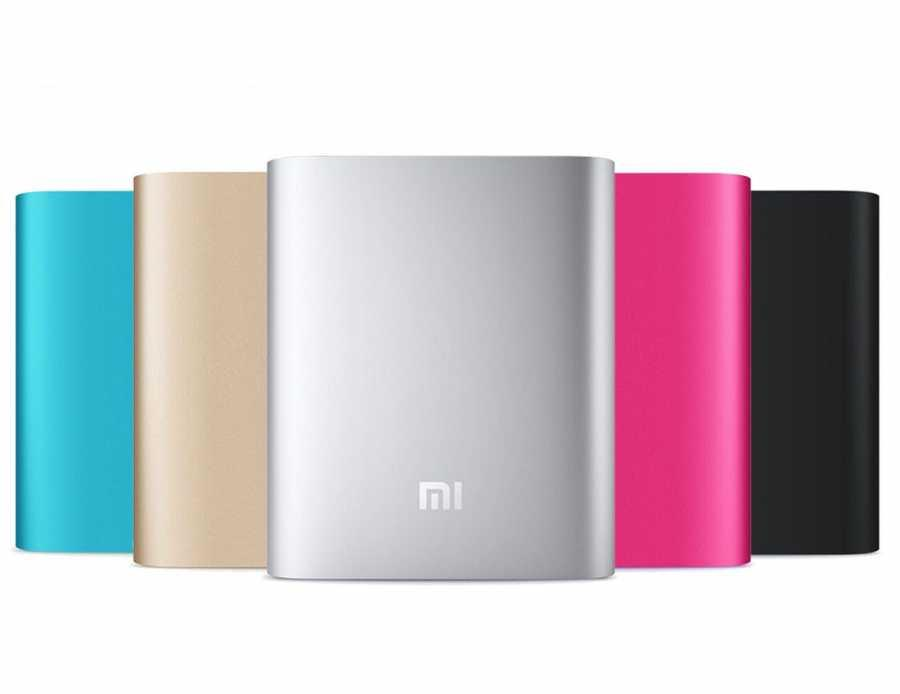 Акумулятор зарядний Xiaomi MI Power Bank 10400 mAh Gold, Silver, Black