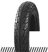 Покрышка отличного качества для скутеров 6PR (60% каучука) 3.00-10 OCST DX-033