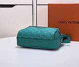 Мужская сумка Луи Витон  Outdoor канва Monogram Eclipse, кожаная реплика, фото 4