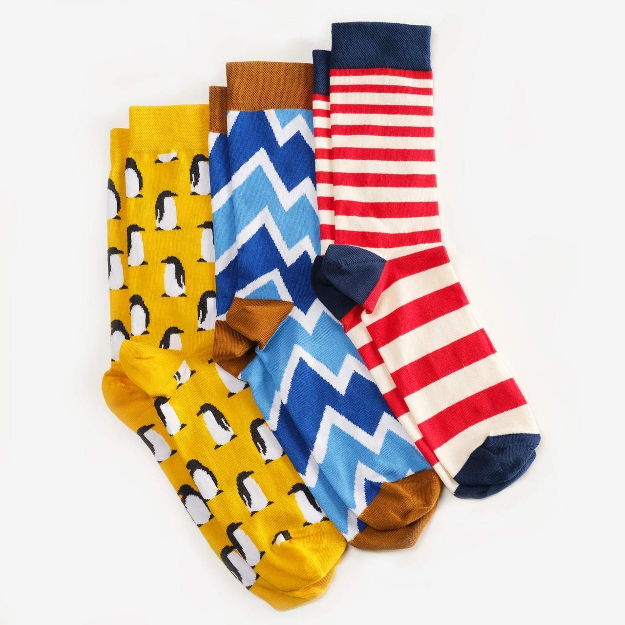 Носки Dodo Socks набор Vernadsky 44-46, 3 шт