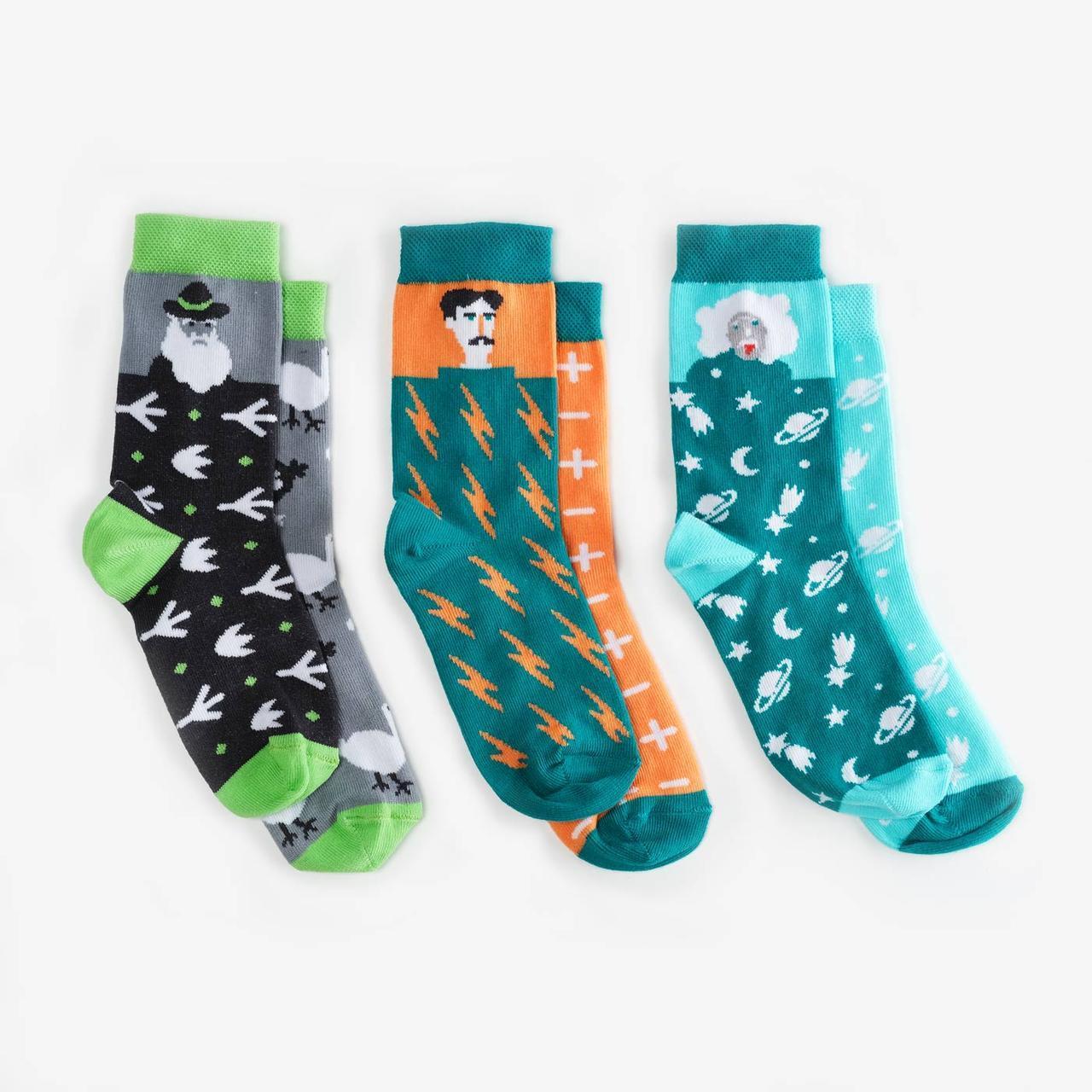 Носки детские Dodo Socks набор Kunsht 7-10 лет